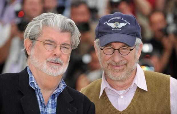 Джордж Лукас и Стивен Спилберг.