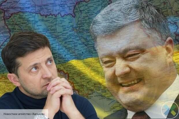 Компромат с пленками не сыграл: Зеленский не смог стереть с себя похожесть на Порошенко