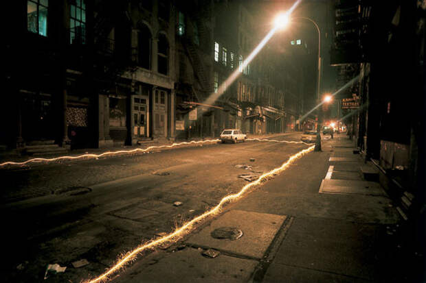Eric Staller светографика, фотография