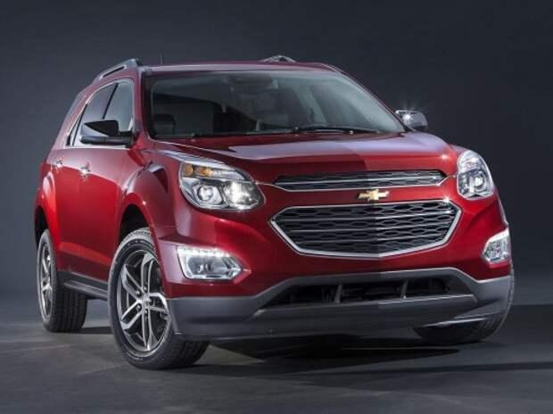 Кроссовер Chevrolet Equinox обрел новую внешность