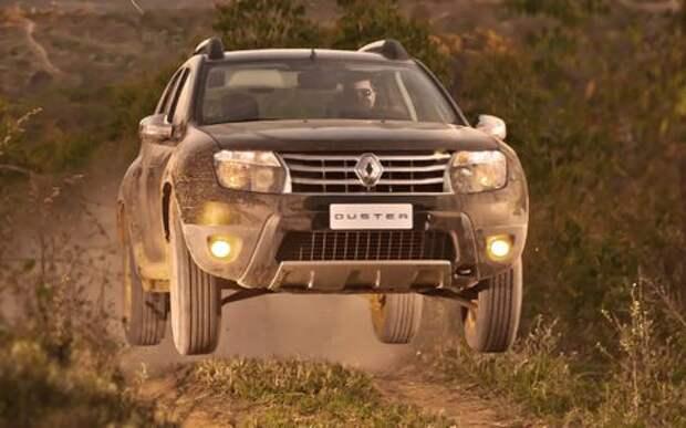 Каждый второй Renault Duster побывал в ДТП!