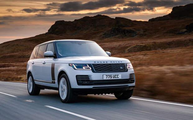 Range Rover привез в Россию гибридный внедорожник