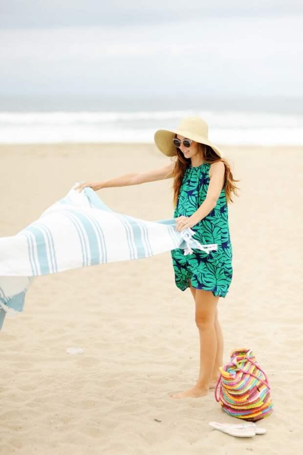 Как сшить пляжное летнее платье (Diy)