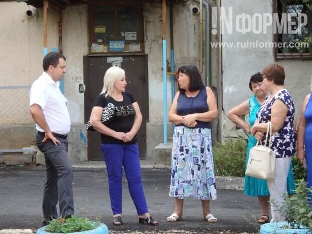 Как на улице Горпищенко «расцвёл» двор