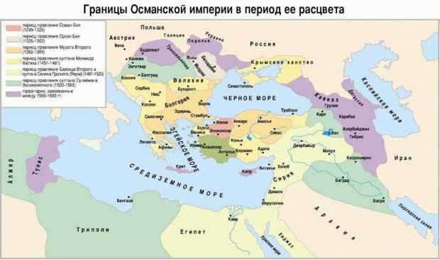 Как появились турки