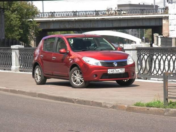 Аукцион. Снова классика. На торгах — Renault Sandero из парка «За рулем»