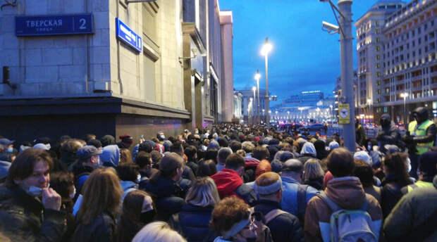 Федеральные телеканалы не стали упоминать в выпусках новостей митинги в поддержку Навального