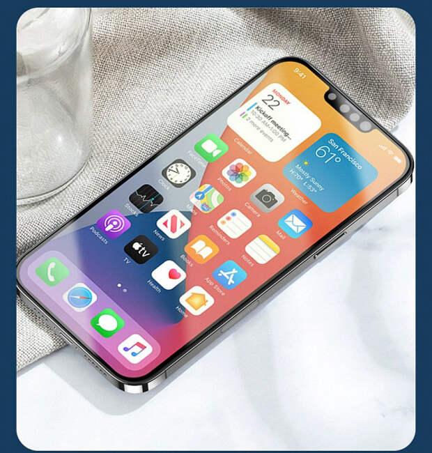 iPhone 13 показали на качественных рендерах