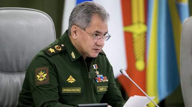 Шойгу заявил о росте военной активности НАТО близ южных границ России