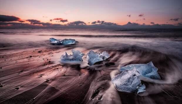 Лёд и волны: две крайности одной стихии