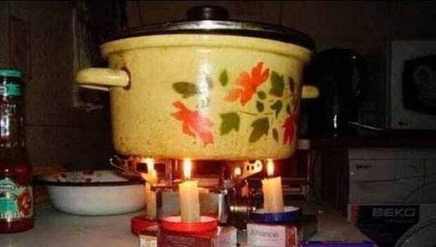 20. Ужин на свечах идея, люди, находчивость, русские