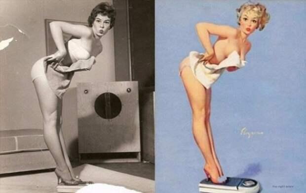 Как выглядели девушки с плакатов Pin-Up в реальности