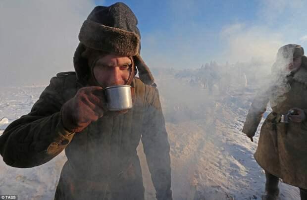 Реконструкция прорыва блокады Ленинграда