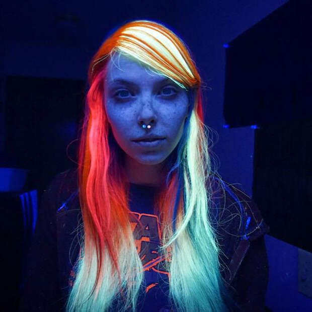 10.  вечеринка, волосы, краска для волос