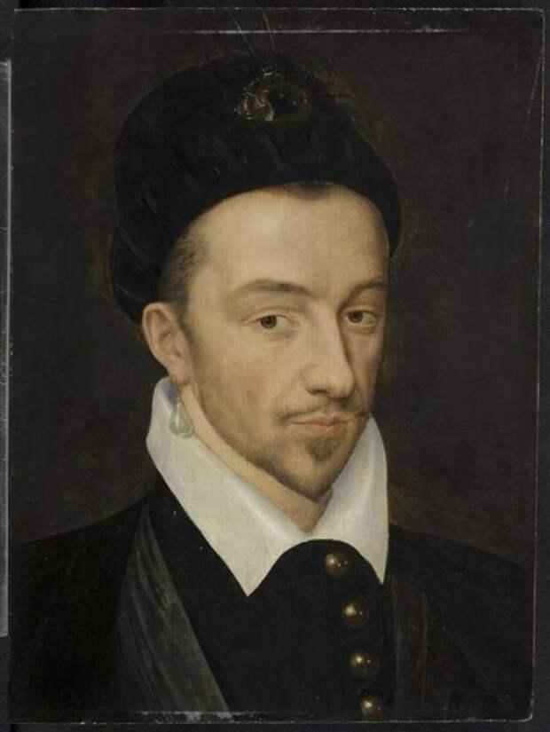 Портрет Генриха III работы Франсуа Клуэ, 1581 год.jpg