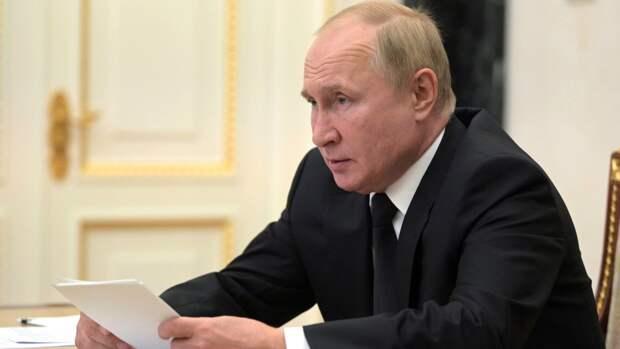 Путин отметил важность предстоящих парламентских выборов
