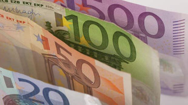 Евро, архивное фото