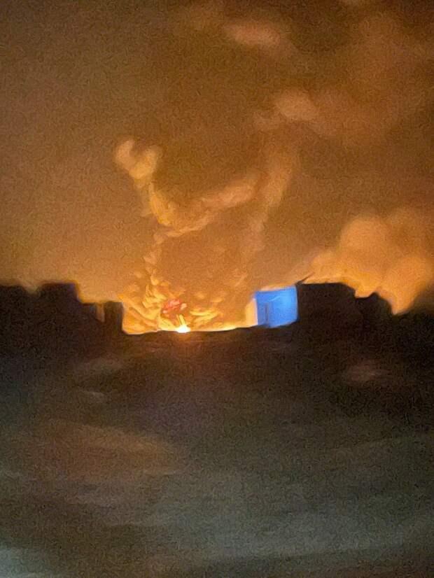 Удар по Тахрину. 14.03.2021