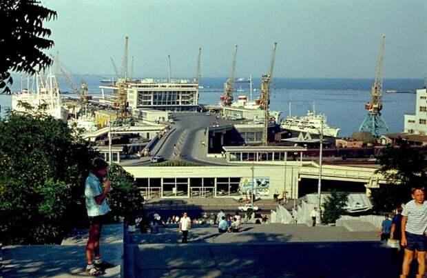 Жемчужина Черного моря: фотографии Одессы в 1969 году