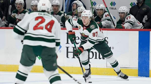 Капризов признан 1-й звездой матча НХЛ «Аризона» — «Миннесота»