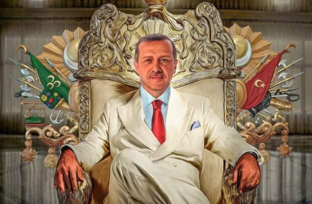 Эрдоган собрался воевать на всех фронтах