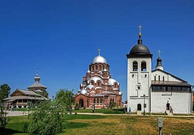 Свияжск  Самый старинный монастырь — Иоанно-Предтеченский