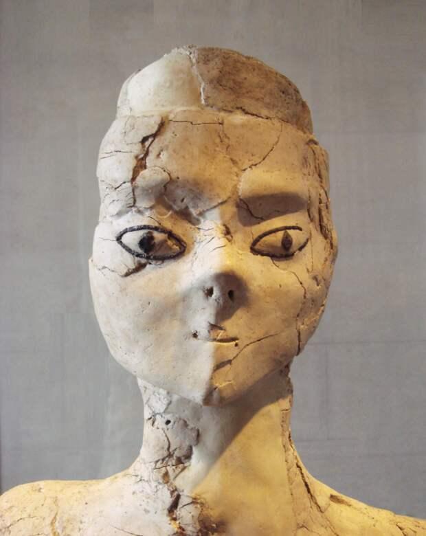 Неолитическая скульптура, 9 тыс. до н.э.