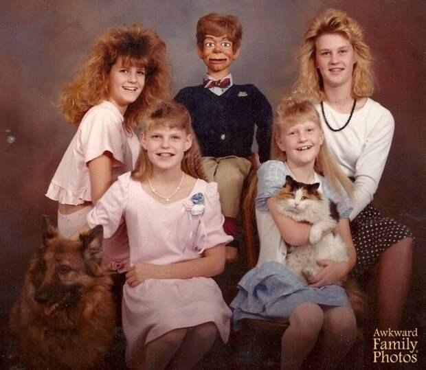 20 адских семейных фото. Люди, вы офигительны!