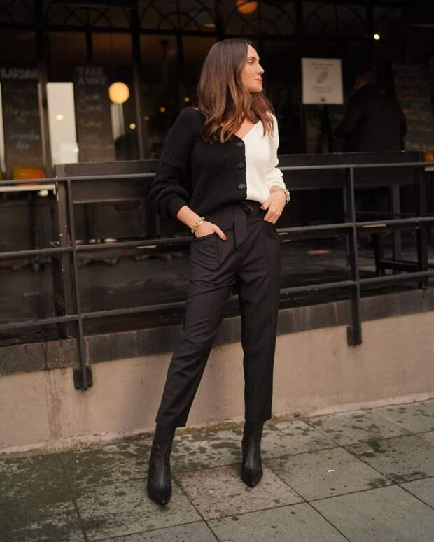 15 примеров с чем носить брюки 7/8, чтобы образ соответствовал всем модным трендам