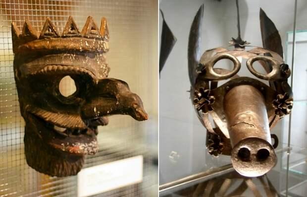 20 средневековых масок позора для дебоширов и сварливых жён