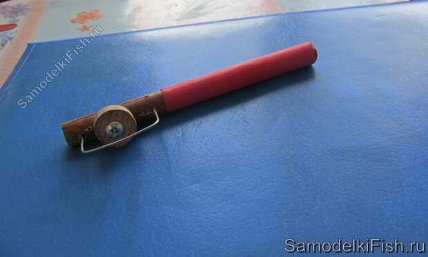 Самодельный крючковяз для вязания поводков