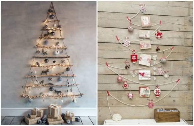 Лучшие креативные идеи для новогодней елки