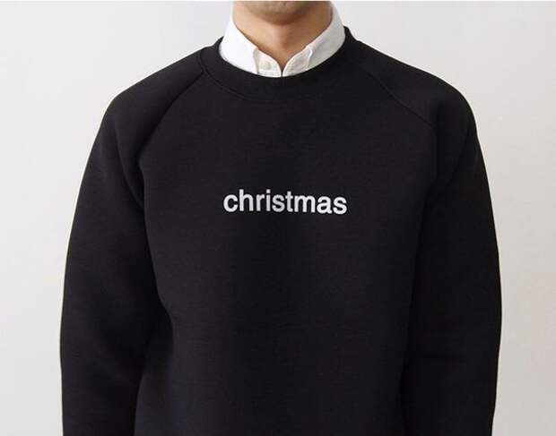 """""""Рождественский свитер"""" на новый лад"""