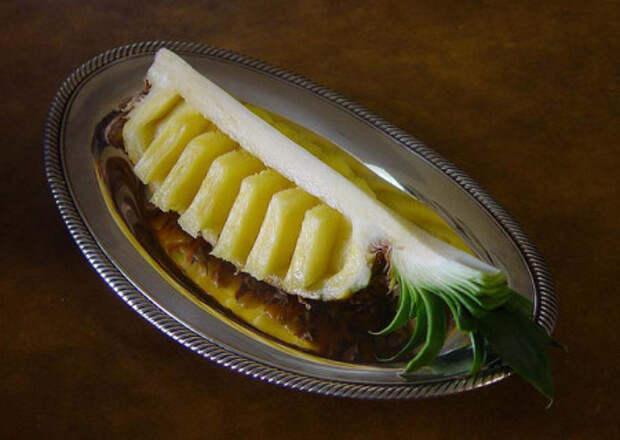 как почистить ананас в домашних условиях
