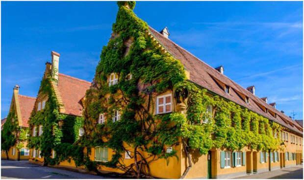 Фуггерай - уникальный район в Германии, где можно жить за 1 евро в год