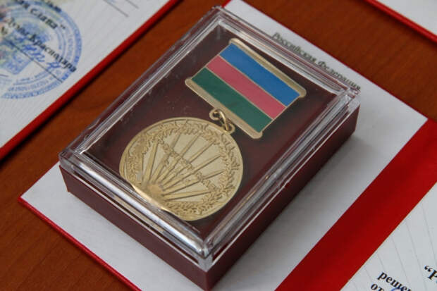 """В Краснодаре изменили дату награждения медалью """"Родительская слава"""""""