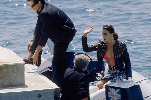 Сильвестр Сталлоне получил по заслугам от Дженнифер Флавин (1990)