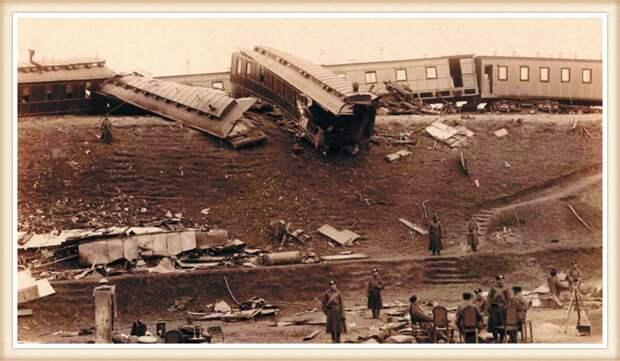Осенью 1888 года царский поезд потерпел крушение у станции Борки