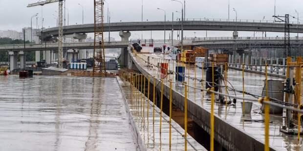 Участок СВХ от Ярославского до Дмитровского шоссе готов на 60% — Бочкарев