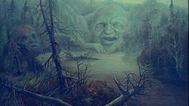 У хозяина болота