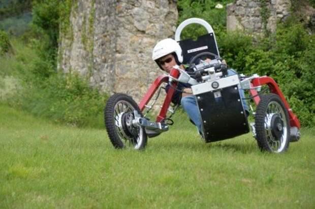 Swincar Spider: уникальный квадроцикл-«паук» (ВИДЕО)