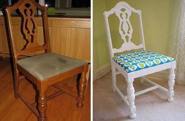 Потертые стулья Редизайн, переделка, советская мебель