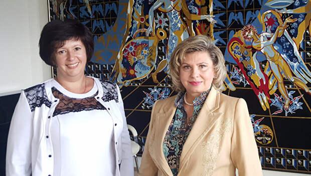 Две важные дамы переговорили: из Крыма украинские заключенные отправятся домой