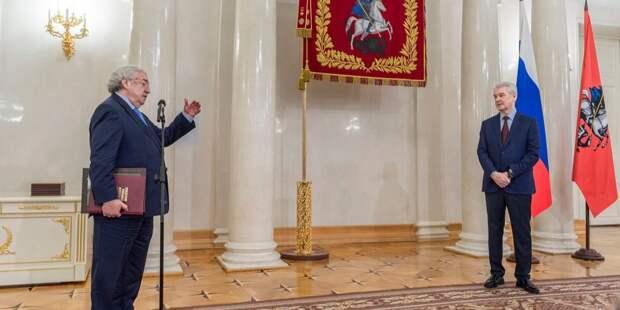 Собянин наградил директора клиники на Пронской за заслуги перед отечеством