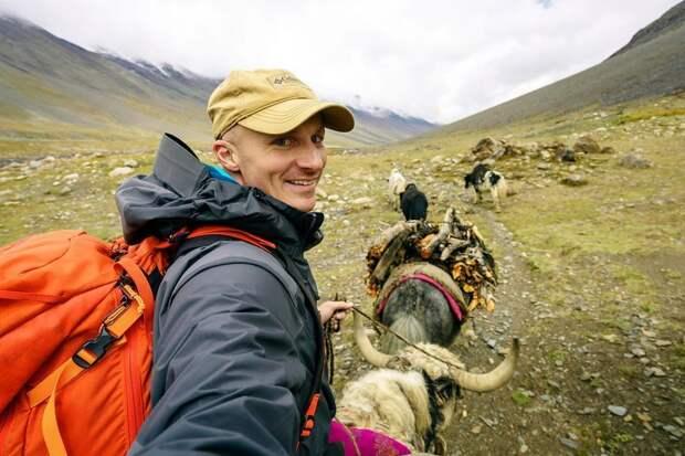 Верхом на яке Ваханский коридор, афганистан, вид, горы, природа, путешествие, фотомир