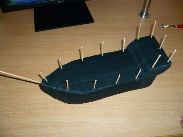 корабль своими руками