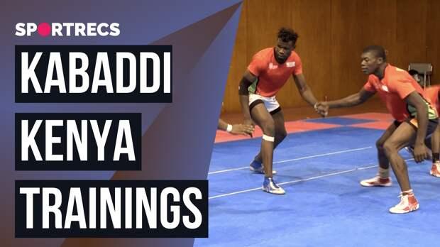 Kabaddi Kenya. Trainings