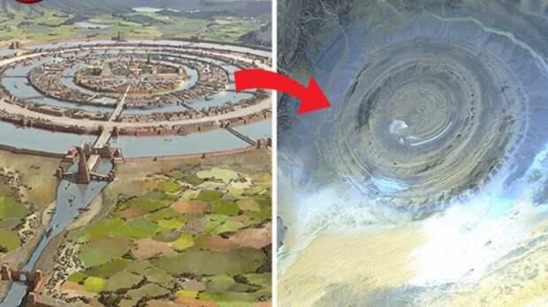 В пустыни Сахара нашли затерянную Атлантиду