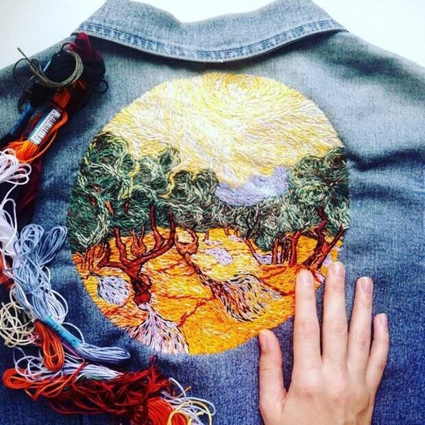 Вышивки Евгении Баслиной (подборка)