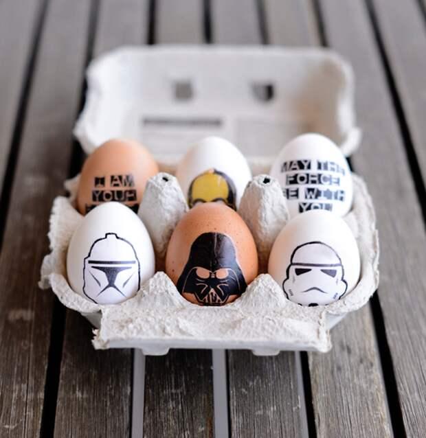 15 идей и инструкций  по украшению пасхальных яйц